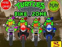 Testoasele Ninja cu Motocicleta