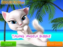 Talking Angela Bubble