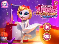 Talking Angela Machiajul de Hollywood