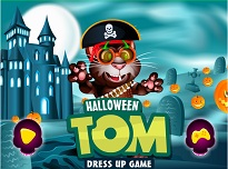 Talking Tom si Costumul de Halloween