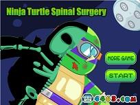 Testoasa Ninja la Operatie