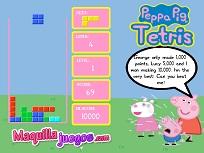 Tetris cu Purcelusa Peppa