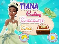 Tiana si Prajitura cu Ciocolata