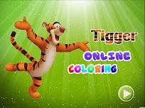 Tigrul de Colorat