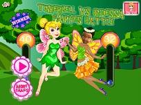 Tinkerbell si Iridessa de Imbracat