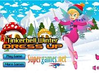 Tinkerbell Imbracata de Iarna