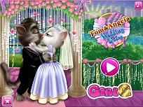 Tom si Angela Sarutul de la Nunta