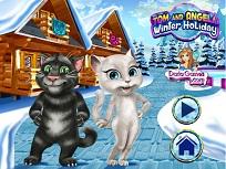 Tom si Angela Vacanta de Iarna