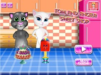 Tom si Angela la Magazinul de Dulciuri