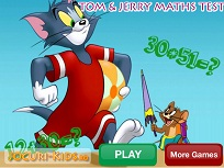 Test de Matematica cu Tom si Jerry