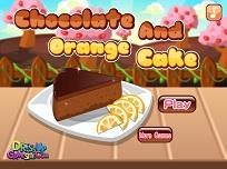 Tortul de Ciocolata cu Portocale