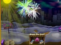 Toto si Artificiile de Anul Nou