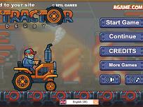 Tractorul Iarna