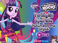 Twilight Sparkle Stilul Curcubeului
