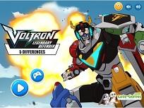 Voltron Legendary Defender Diferente