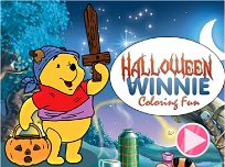 Winnie the Pooh de Halloween