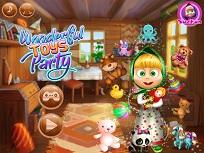 Masha petrecere cu jucarii