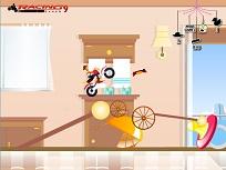 Woody cu Motocicleta