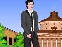Zac Efron de imbracat