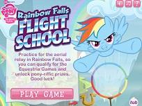 Zboara cu Rainbow Dash