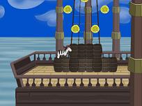 Zebra Zou Pirat