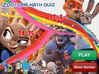 Zootopia Testul de Matematica