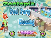 Zootopia si Petrecerea  la Piscina