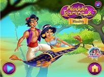 Saruturi cu Jasmine si Aladdin