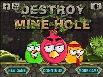 Angry Birds Distruge Mina