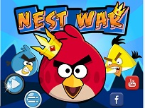 Angry Birds Razboi in Cuib