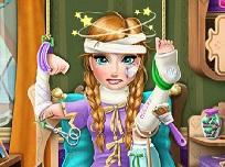 Frozen Anna la Spital