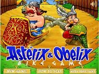 Asterix si Obelix pe Bicicleta