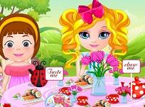 Bebelusa Barbie Ora Ceaiului