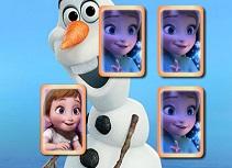 Printesele Frozen Joc de Memorie