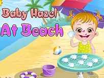 Fetita Hazel pe Plaja