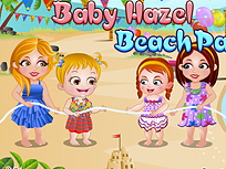 Fetita Hazel Petrecere pe Plaja