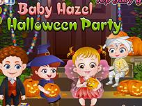 Fetita Hazel Petrecere de Halloween
