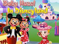 Fetita Hazel la Disneyland