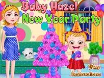 Fetita Hazel Petrecere de Anul Nou