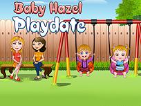 Fetita Hazel se Joaca cu Jake