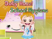 Fetita Hazel Invata Despre Igiena