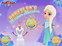 Bebelusa Elsa Set de Jocuri