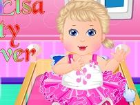 Bebelusa Elsa Pregatiri pentru Petrecere