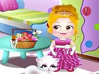 Fetita Hazel Domnisoara de Onoare