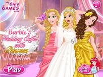 Barbie Selfie la Nunta cu Printesele