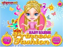 Bebelusa Barbie si Tinuta de Printesa