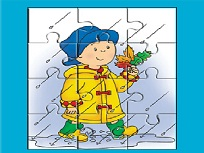 Caillou in Puzzle