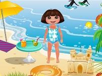 Dora Merge la Plaja