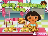 Dora Pregateste Hamburger