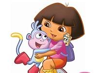 Dora Puzzle cu Umbre